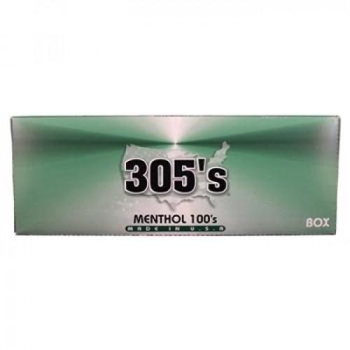 305 MENTHOL 100 BOX