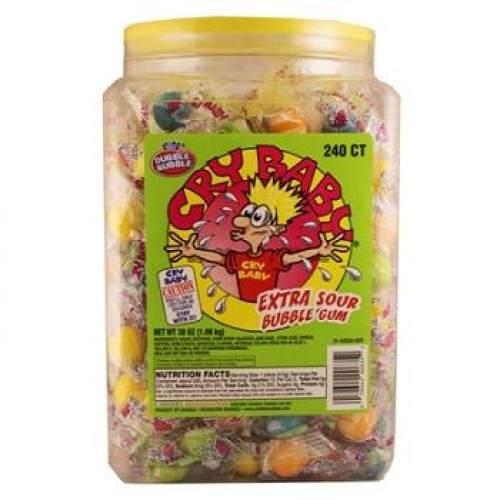 CRY BABY EXT SOUR JAR