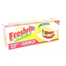 FRESHRITE SANDEICH BAG 120 CT