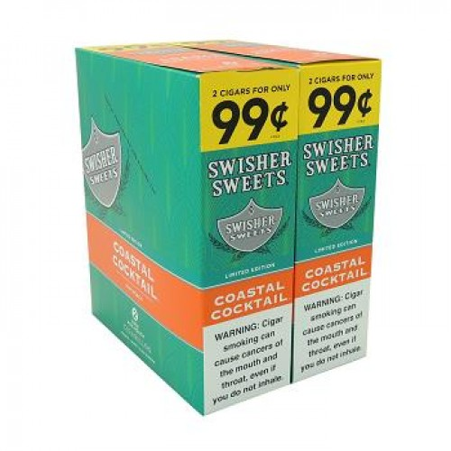SWISHER SWEETS CIG 2F99 COASTAL COCKT