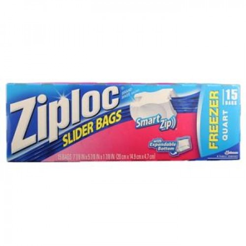 ZIPLOC SLIDER BAG