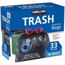 ASPACK TRASH BAGS 33 GALL