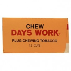DAYS WORK CHEW. TOBACCO